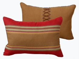 Santa Fe Shoelace Pillow - Clearance 3 Available