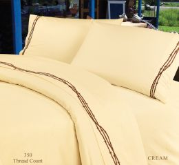 Barbed Wire Sheet Set Cream