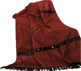 Cheyenne Throw Red