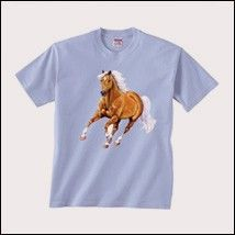 Beautiful Galloping Palomino Tee