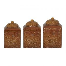 Savannah Canister Set,  Mustard