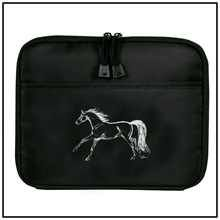 Black iPad Case With Galloping Horse