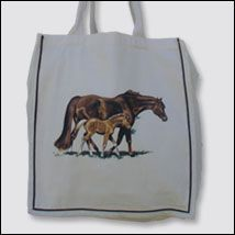 Wandering Mare & Foal Tote