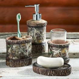 Cabin Camo Bath Set