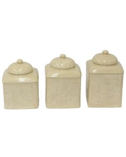 Savannah Canister Set in Cream