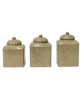 Savannah Tooled Canister Set