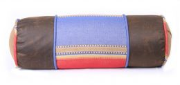 Denim Neckroll Pillow-Blue - Clearance Only 1 Left In Stock
