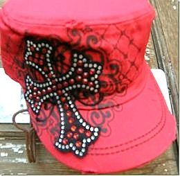 Western Embroidered Dublin Cross Hat