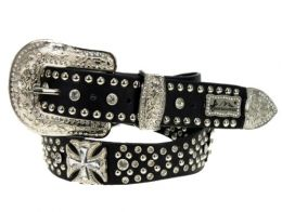 Maltese Cross Western Belt