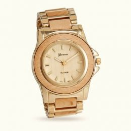 Natural Wood Quartz Watch