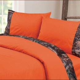 Camo Sheet Set Orange