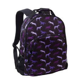 Shades of Horses Backpack - Purples