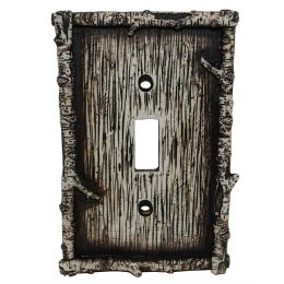 Birch Twig Single Switch Plate