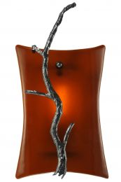 Abstract Tree Branch Wall Sconce