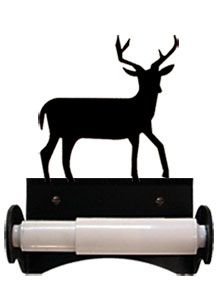 Whitetail Buck Toilet Tissue Holder