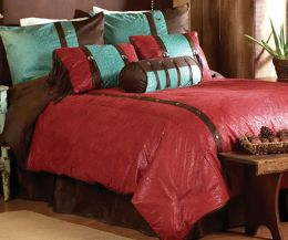 Cheyenne Comforter Set Red