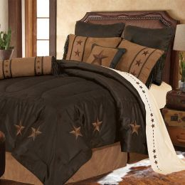Laredo Western Star Bedding Set - Dark